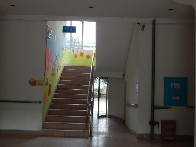 11-classroom building inside