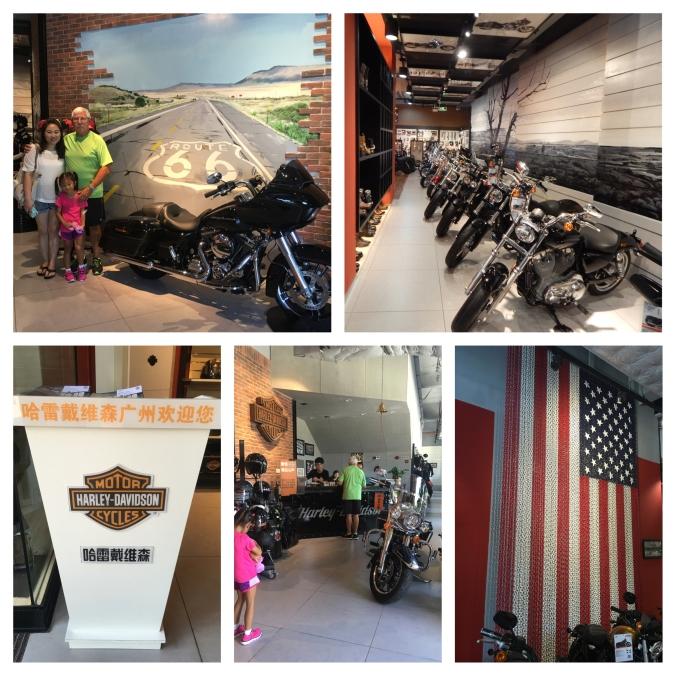 Harley Davidson Dealership Guangzhou, China