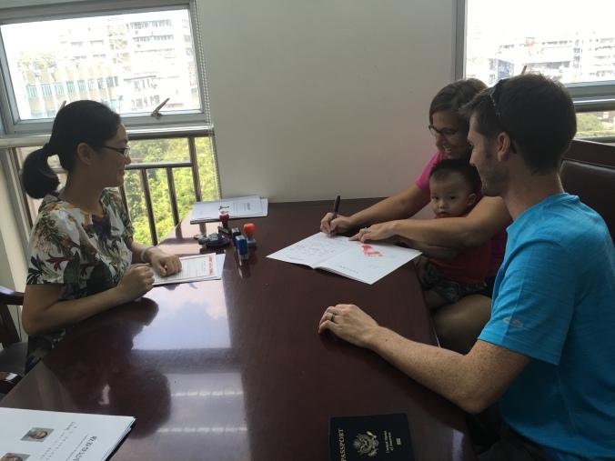 Civil Registration Interview