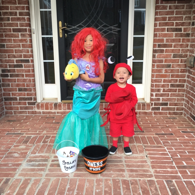 Ariel, Sebastian and Flounder